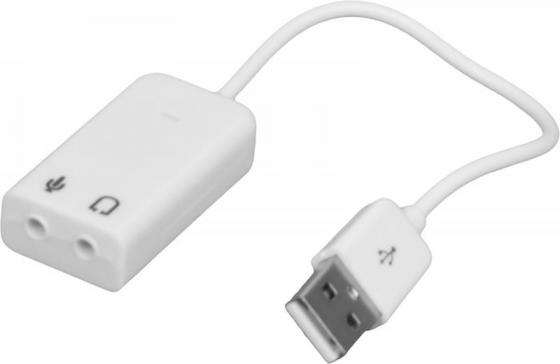 Звуковая карта USB C-media CM108/ASIA USB 8C TRAA71 2.0 channel Asia 8C звуковая карта usb c media cm108 trua71 2 0 channel asia 8c blister