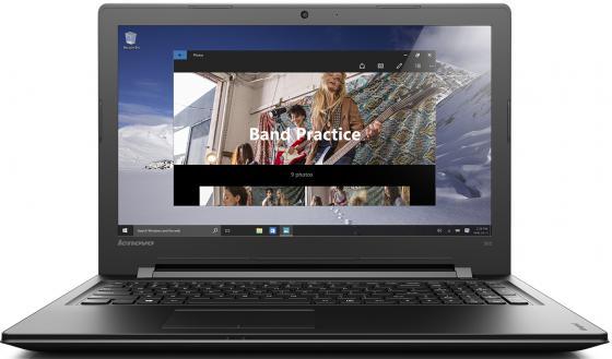Ноутбук Lenovo IdeaPad 300-15IBR 15.6 1366x768 Intel Celeron-N3060 500Gb 2Gb Intel HD Graphics черный Windows 10 Home 80M300FHRK 4 4 full size new violin case glass fiber light durable black white blue red 1215