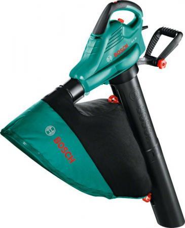 Воздуходувка-пылесос Bosch ALS 30 зеленый электрическая воздуходувка bosch als 30 06008a1100