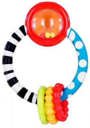 Игрушка-прорезыватель Bright Starts Колечко с 3 месяцев обучающая разноцветный 10223 игрушка прорезыватель bright starts гусеничка оранжевая