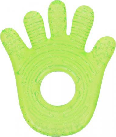 Прорезыватель Bright Starts «Ладошка» с 3 месяцев охлаждающая зелёный 8986-1 прорезыватель bright starts динозаврик желтый 52029 2