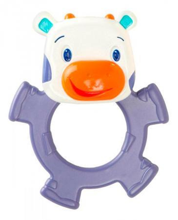 Игрушка-прорезыватель Bright Starts «Коровка» с 3 месяцев фиолетовый игрушка подвеска bright starts развивающая игрушка щенок