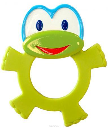 Игрушка-прорезыватель Bright Starts «Лягушонок» с 3 месяцев зелёный прорезыватель bright starts динозаврик желтый 52029 2