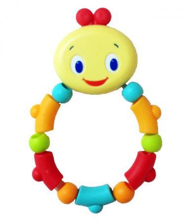 Игрушка-прорезыватель Bright Starts «Гусеничка» с 3 месяцев разноцветный 10221 прорезыватель bright starts динозаврик желтый 52029 2