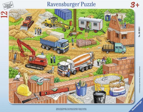Пазл 12 элементов Ravensburger Городская стройка 06058