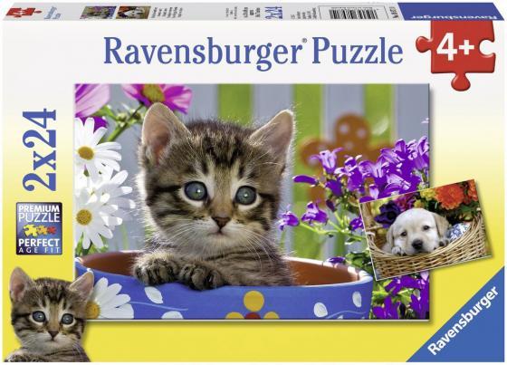 Пазл 48 элементов Ravensburger Милые друзья 08971 ravensburger пазл 2 в 1 стройплощадка 48 деталей