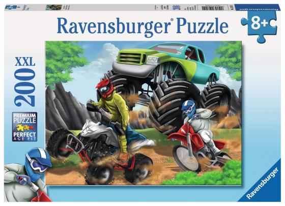 Пазл 200 элементов Ravensburger Мощные машины