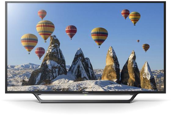 Телевизор 32 SONY KDL-32WD603 черный 1366x768 200 Гц Smart TV Wi-Fi SCART RJ-45 S/PDIF док станция sony dk28 tv dock