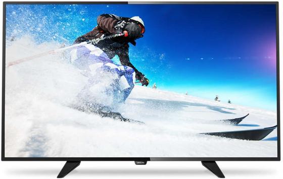 Телевизор LED 40 Philips 40PFT4101/60 черный 1920x1080 SCART HDMI USB плазменный телевизор led 40 samsung hg40ed450 черный 1920x1080 scart