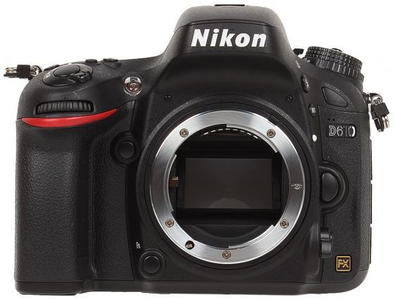 Зеркальная фотокамера Nikon D610 Body F3.5-4.5, 24.7Mp, 3.15 ISO25600