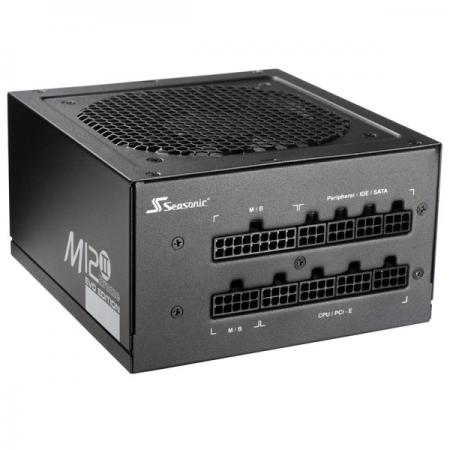 Фото - Блок питания ATX 520 Вт Seasonic M12II-520 блок питания accord atx 1000w gold acc 1000w 80g 80 gold 24 8 4 4pin apfc 140mm fan 7xsata rtl