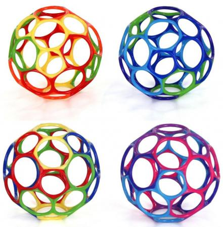 Мячики Oball Oball 10 см 81030 oball игрушечный трек