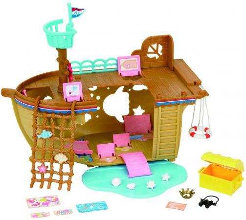 Игровой набор Sylvanian Families Детская площадка Сокровища морей 20 предметов 5210 sylvanian families детская площадка сокровища морей