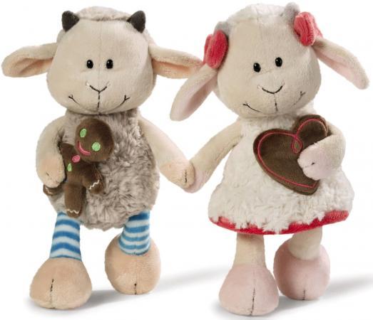 Мягкая игрушка козлята NICI Гензель и Гретель 20 см плюш 36330 мягкая игрушка овечка эми 35 см nici 36330