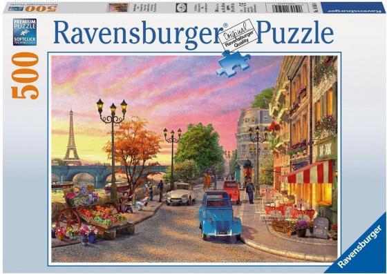 Пазл 500 элементов Ravensburger Вечер в Париже 14505 пазлы educa пазл эйфелева башня париж 500 элементов