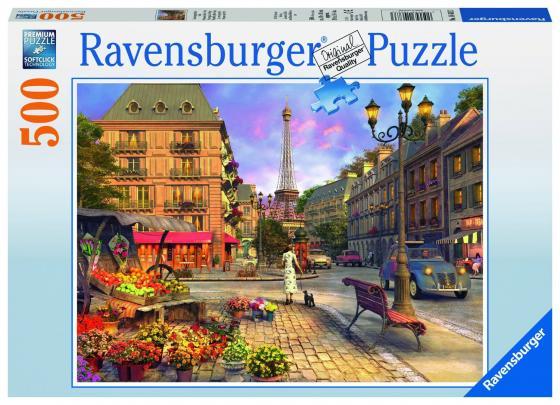 Пазл 500 элементов Ravensburger Вечерняя прогулка пазлы ravensburger пазл книга джунглей 300 элементов