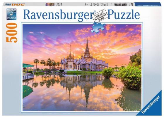 Пазл 500 элементов Ravensburger Закат Ват Тай 14649 пазл ravensburger озеро эйб 1000 элементов
