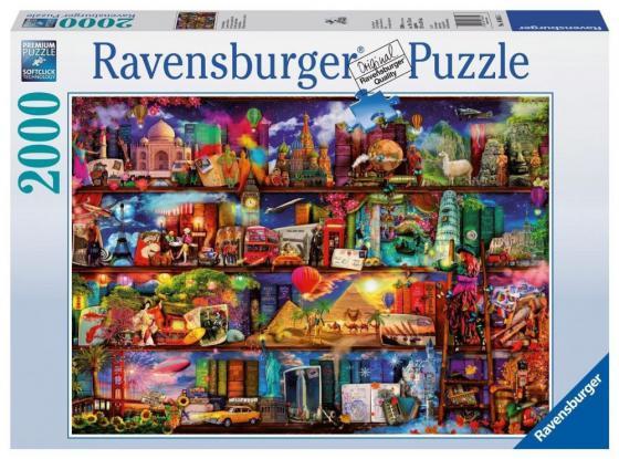 Пазл 2000 элементов Ravensburger Книжный мир