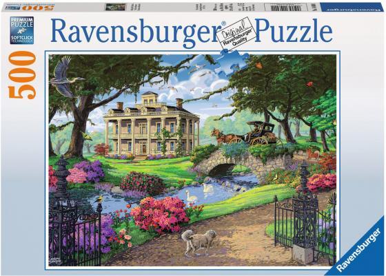 Пазл 500 элементов Ravensburger Посещение особняка 14690 пазл ravensburger сейшелы 1500 элементов