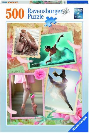 Пазл 500 элементов Ravensburger Прима-балерина 14647 ravensburger пазл прима балерина 500 деталей