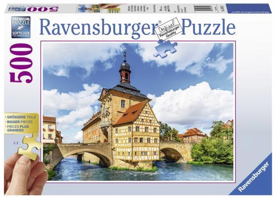 Пазл 500 элементов Ravensburger Ратуша, Бамберг пазл ravensburger сейшелы 1500 элементов