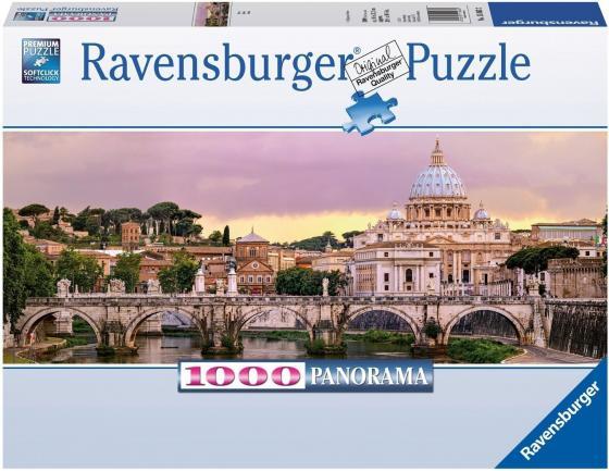 Пазл 1000 элементов Ravensburger Рим пазлы ravensburger пазл панорамный пляжные корзинки на зюлте 1000 элементов