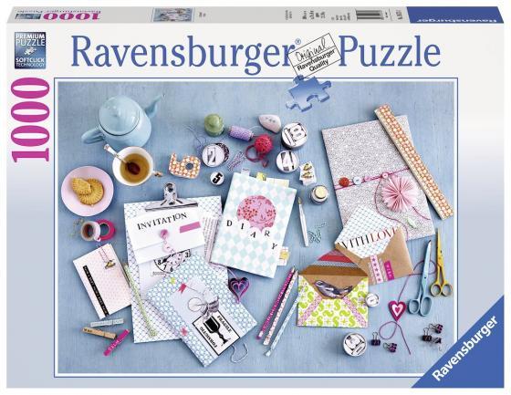 Пазл 1000 элементов Ravensburger Сделай сам