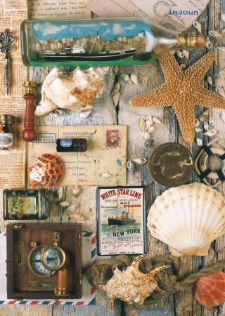 Пазл 1000 элементов Ravensburger Морские сувениры
