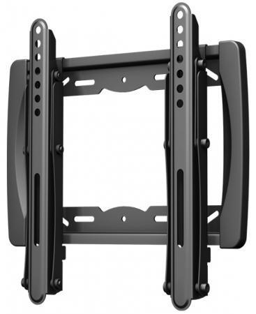 Кронштейн VOBIX VX 3711 B черный для ЖК ТВ 17-37 VESA до 200 х 200 мм 25кг кронштейн holder t3626 b до 25кг