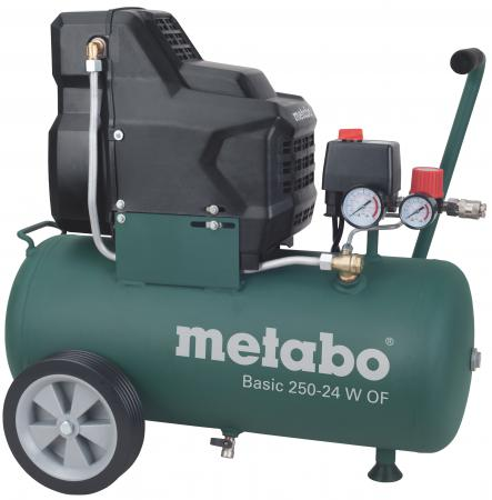 Компрессор Metabo 250-24WOF безмасляный поршневой 601532000 масляный компрессор metabo basic 250 24 w 601533000