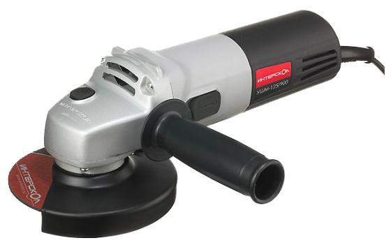 Углошлифовальная машина Интерскол УШМ 125-900 125 мм 900 Вт углошлифовальная машина интерскол ушм 125 1400эл 125 мм 1400 вт