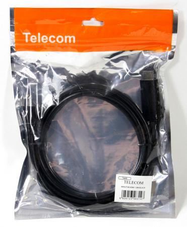 Кабель-переходник 1.8м VCOM Telecom Mini DisplayPort - HDMI TA695 6926123463147 кабель telecom mini displayport hdmi ta695 1 8 м черный