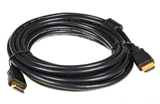 Кабель HDMI(m)-HDMI(m) 2м 5bites высокоскоростной ethernet+3D ферритовые кольца APC-014-020