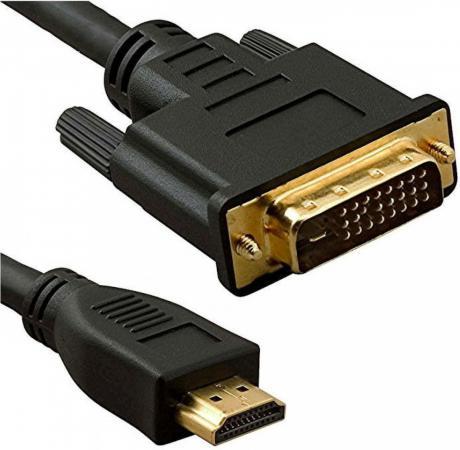 Кабель HDMI(m)- DVI(m) 3м ферритовые кольца 5bites APC-073-030 кабель vga 20м ферритовые кольца 5bites apc 133 200