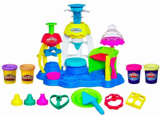 Набор для творчества Hasbro Play-Doh Фабрика пирожных А0318 play doh игровой набор магазинчик домашних питомцев