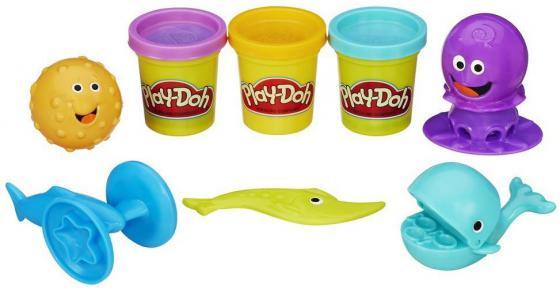 Набор для творчества Hasbro Play-Doh Подводный мир B1378 игровой набор с пластилином play doh b1378 подводный мир