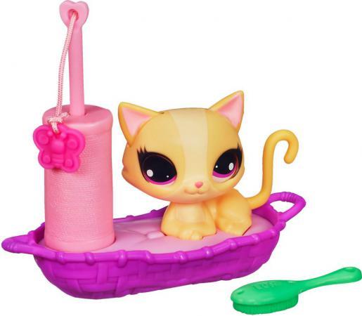 Игровой набор Hasbro Littlest Pet Shop Зверюшка с волшебным мехом и аксессуарами в ассортименте littlest pet shop игровой набор стильный подиум для показа мод