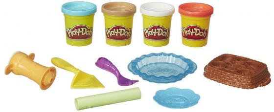 Набор для лепки Hasbro Play-Doh Ягодные тарталетки B3398 набор для лепки play doh сладкий завтрак 6 цветов b9739