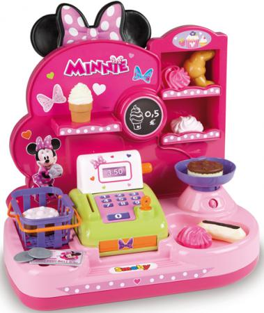 Мини-магазин Smoby Minnie 24067 игровой набор smoby smoby мини магазин 24067 minnie микки маус