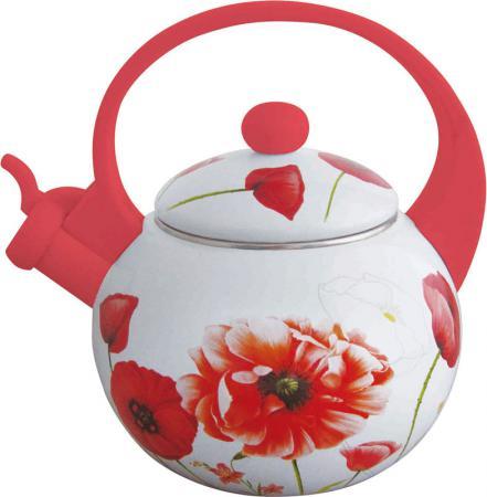 Чайник Winner WR-5101 рисунок белый 2 л металл чайник 0 35 л winner чайник 0 35 л