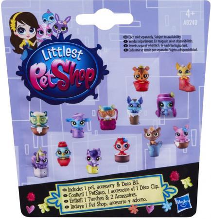 Игровой набор Hasbro Littlest Pet Shop Зверюшка в ассортименте hasbro hasbro littlest pet shop зверюшка и ее малыш terrence konga и purl mcsweeney