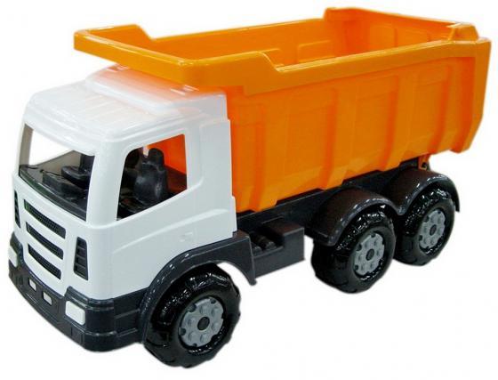 Каталка-самосвал Wader Премиум дорожный пластик от 3 лет 37244 цена