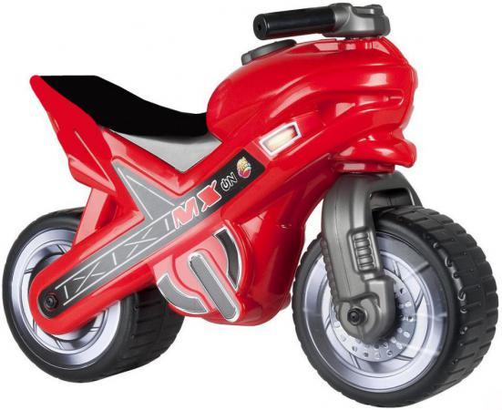 Каталка-мотоцикл Coloma MOTO MX пластик от 18 месяцев красный 46512 каталка машинка coloma квадрик formula 2 пластик от 6 месяцев с ручкой для родителей красный 46314