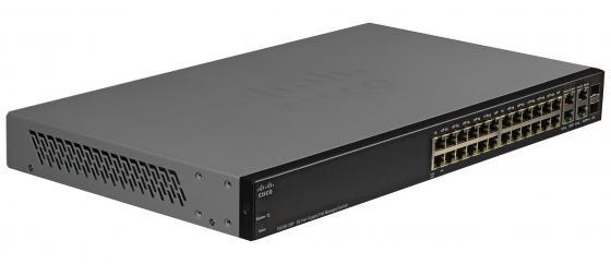 Коммутатор Cisco SB SG300-28PP-K9-EU управляемый 28 портов 10/100/1000Mbps Gigabit PoE+ Managed Switch коммутатор cisco sg300 10sfp k9 eu управляемый 10 портов 10 100 1000mbps 8 sfp 2 comb