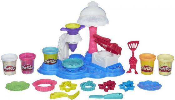 Набор для творчества Play-Doh Сладкая вечеринка B3399 hasbro игровой набор главная улица play doh город