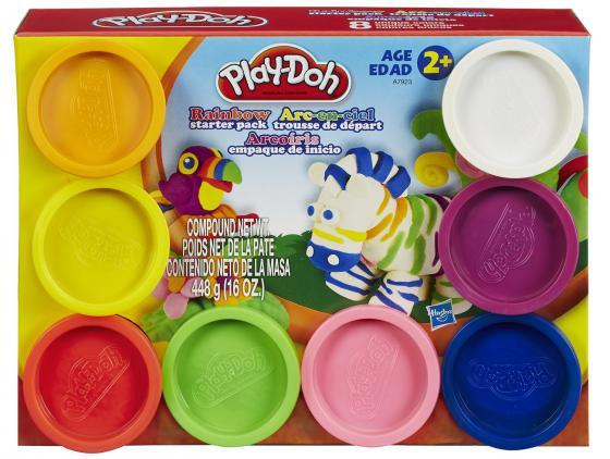 Набор пластилина Hasbro Play-Doh 8 баночек hasbro play doh 18367 набор пластилина для праздника 15 банок