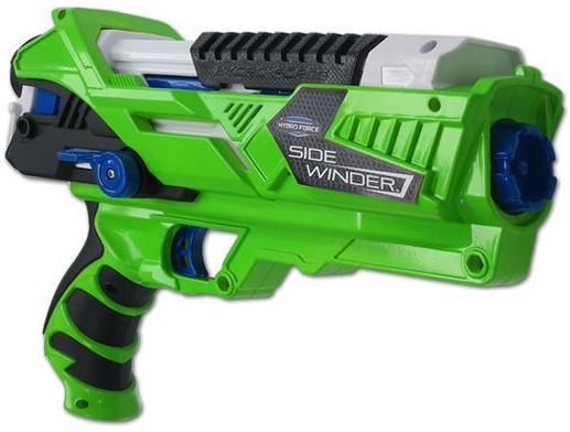 Водный бластер Zing Hydro Force со съемным картриджем зеленый ZG658 бластер zing ztek crossbow as957