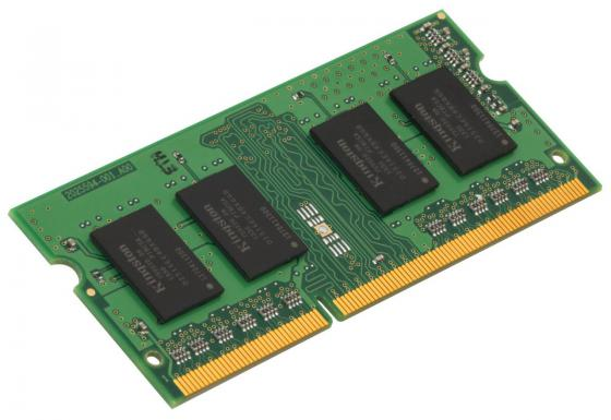 Оперативная память для ноутбуков SO-DDR3 4Gb PC12800 1600MHz Kingston KCP3L16SS8/4 оперативная память для ноутбуков so ddr3 16gb 2x8gb pc12800 1600mhz kingston cl9 hx316ls9ibk2 16 hyperx impact black