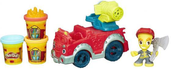 Набор для лепки Hasbro Play-Doh Город Пожарная машина B3416 набор для лепки hasbro play doh от 2 лет 20 шт a7924