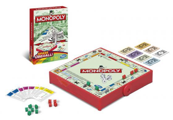 Настольная игра ходилка Hasbro Монополия (дорожная) B1002H